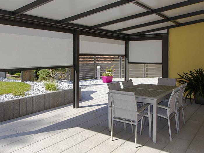 nos r alisations de pergola alu et bois lux zenithal. Black Bedroom Furniture Sets. Home Design Ideas