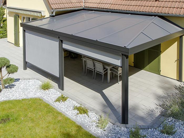 Pergola Alu aluminium pergola. gallery of aluminium pergola with colorbond roof