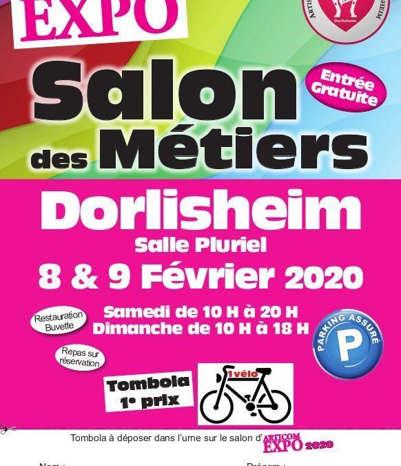 Salon des Métiers de Dorlisheim 8 et 9 février 2020